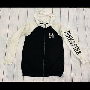 Victoria's Secret PINK Hooded Windbreaker Jacket